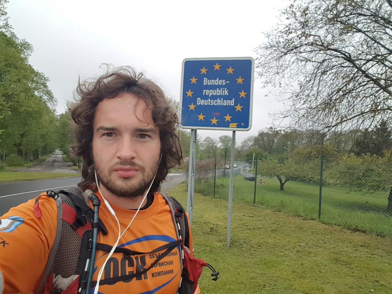 Бегун изМагнитогорска, стартовавший наМамаевом Кургане, финиширует вГермании