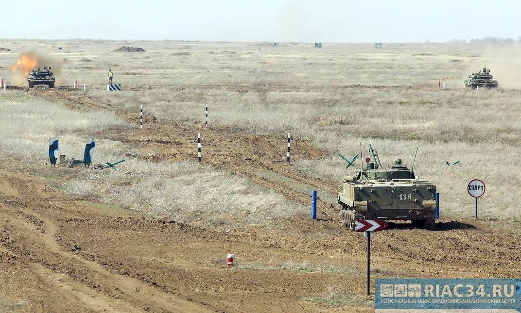 ВВолгоградской области стартовал окружной этап всероссийских армейских состязаний