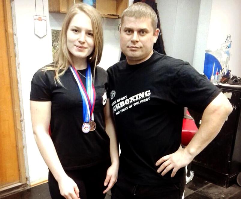 Волгоградка Марина Столярова стала призером главенства страны поармрестлингу