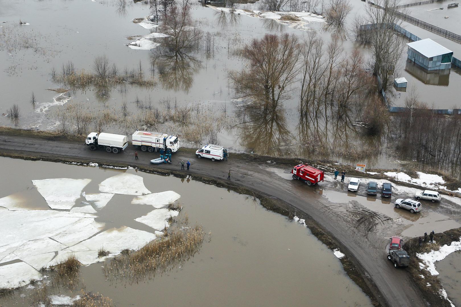 Противоборствовать паводку вВолгоградской области продолжат всеми силами исредствами