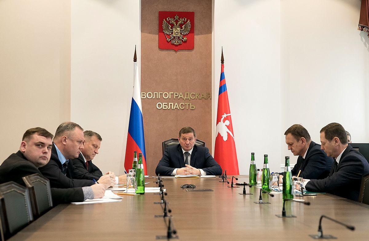 Андрей Бочаров принял участие в правительственном совещании по вопросам экологии и развития инфраструктуры