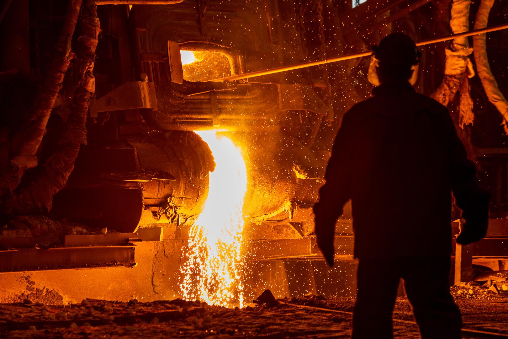 какое место занимает цветная металлургия