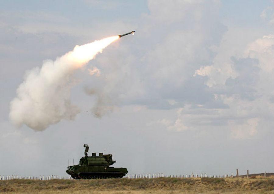 Под Астраханью удачно уничтожены воздушные цели условного противника