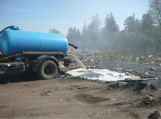ВВолгограде ассенизатор выплатит 80 тыс. заслив отходов укардиоцентра
