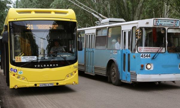 ВВолгограде поменяются маршруты автобусов №21 и №1
