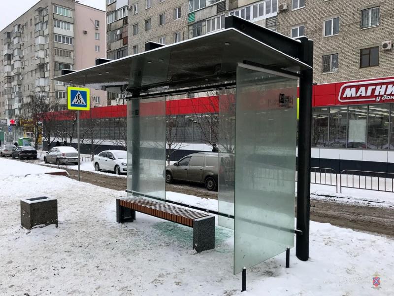 Заразбитую остановку вВолгограде схвачен 31-летний вандал-стрелок