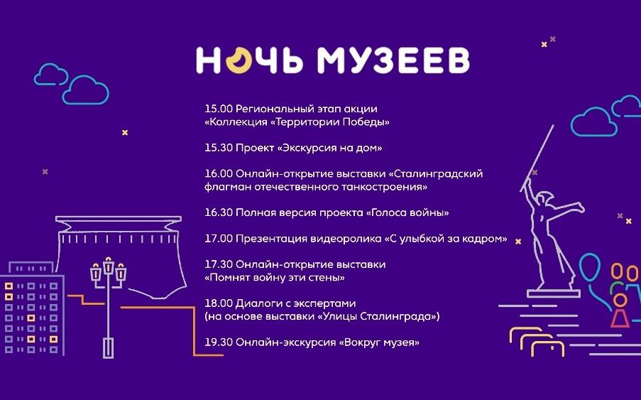 В Волгоградской области стартует виртуальная «Ночь музеев»