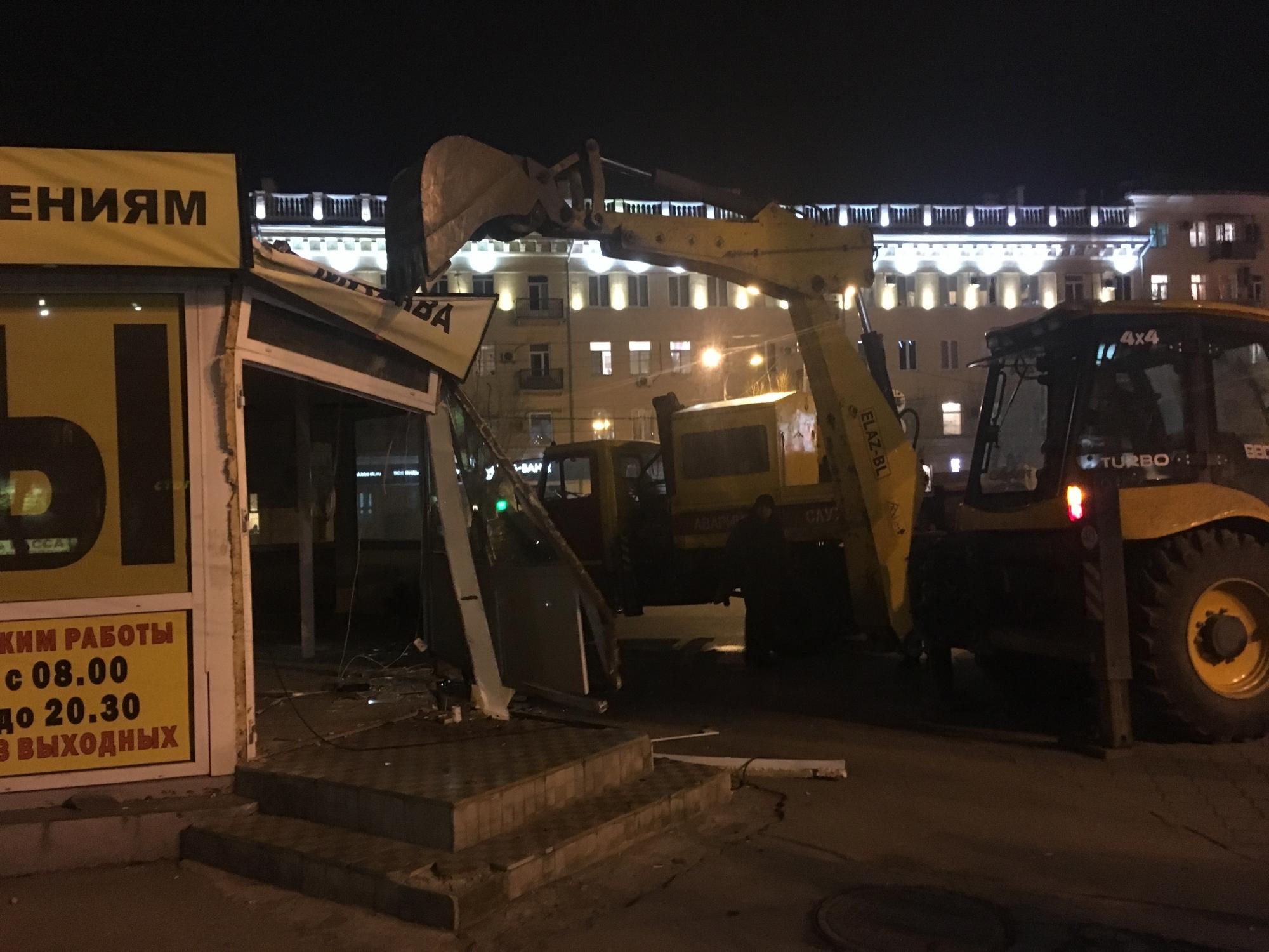 Привокзальные «шалманы» вВолгограде пошли под снос