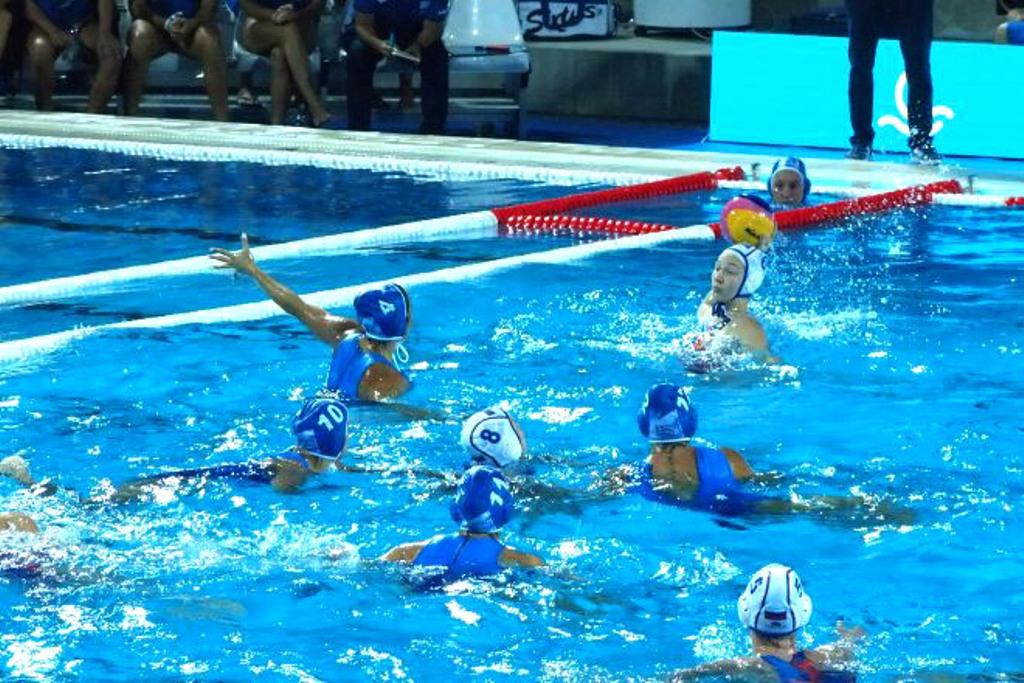 Русские ватерполистки одержали уверенную победу над сборной Казахстана