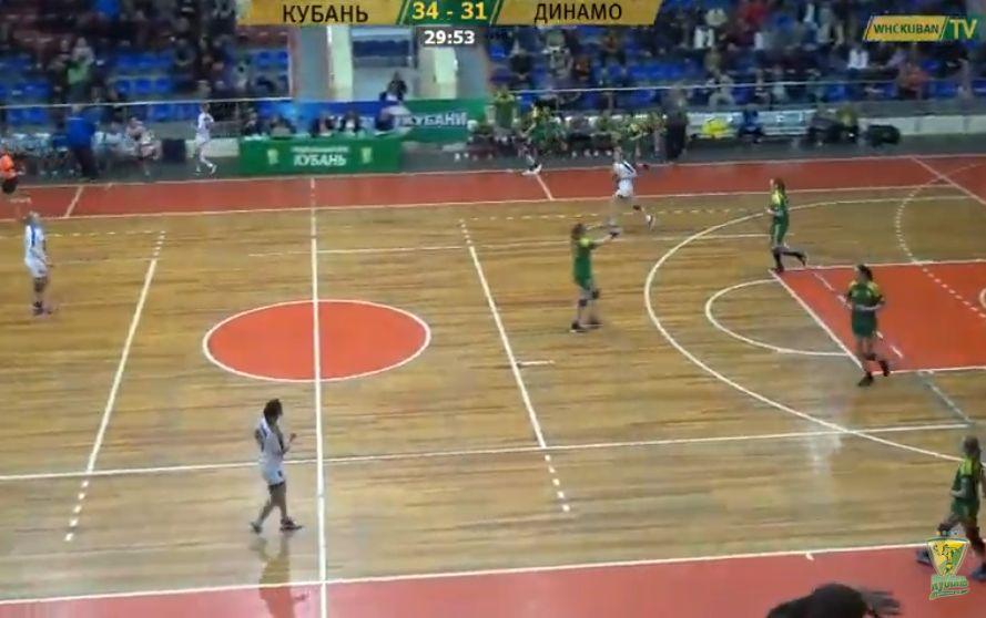 «Кубань» вышла вполуфинал чемпионата РФ погандболу