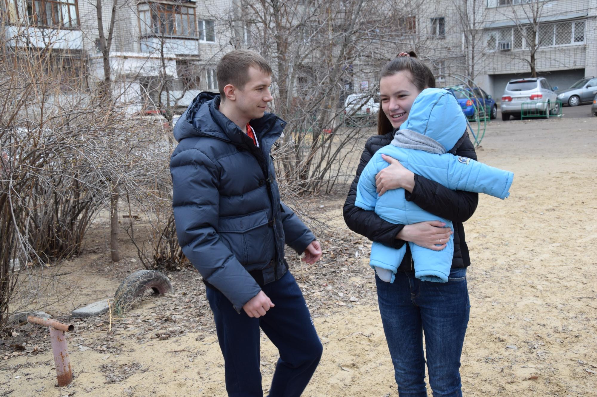 Неменее 160 волгоградок получили по25 тыс. руб. зарождение первенца