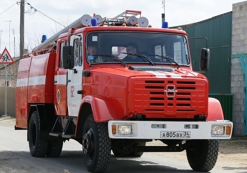 ВВолгограде из-за пожара в9-этажке эвакуировали 20 человек