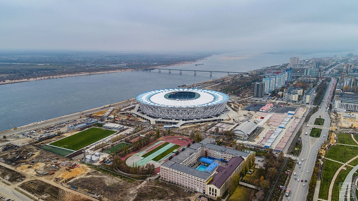 Во время матчей ЧМ-2018 Волгоград станет больше пешеходным