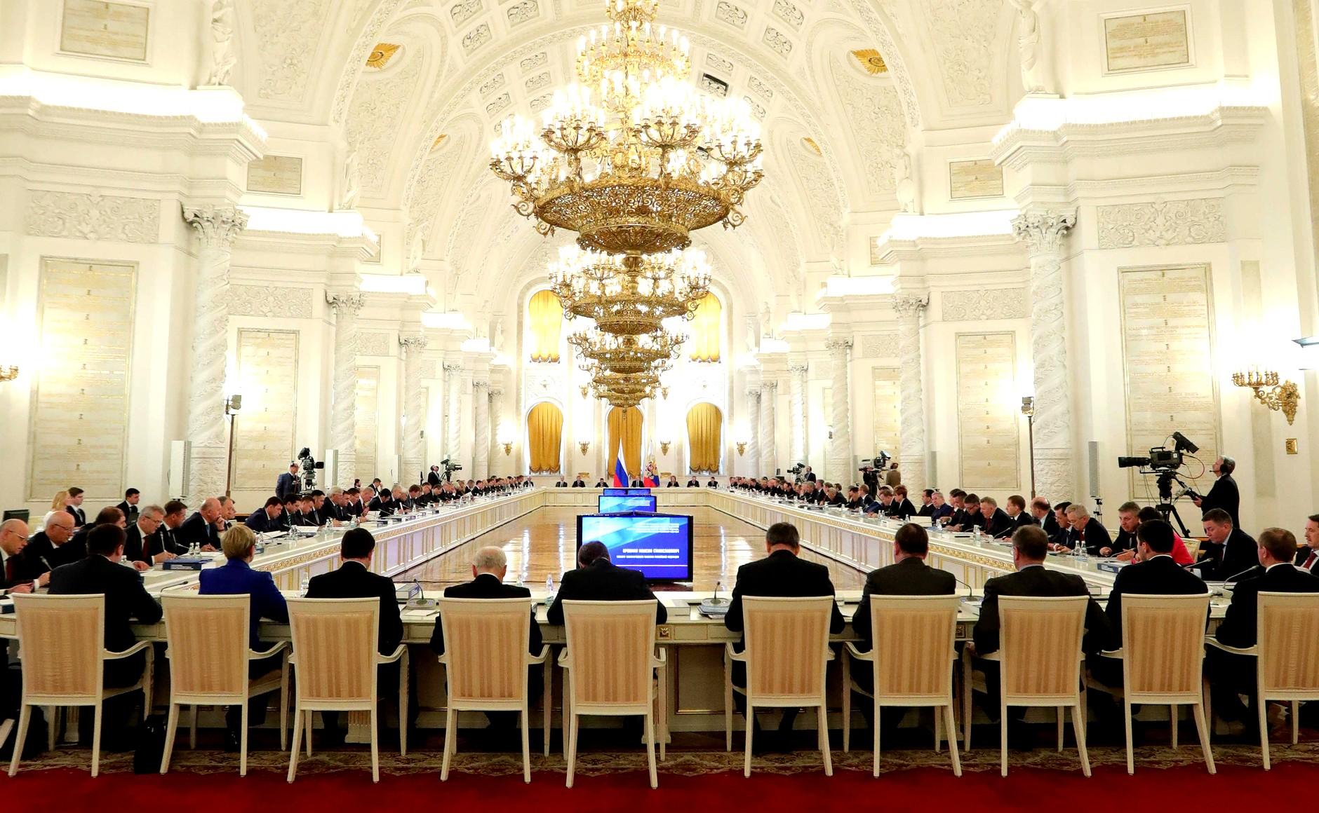Владимир Волков принял участие в совещании Комиссии при Президенте РФ