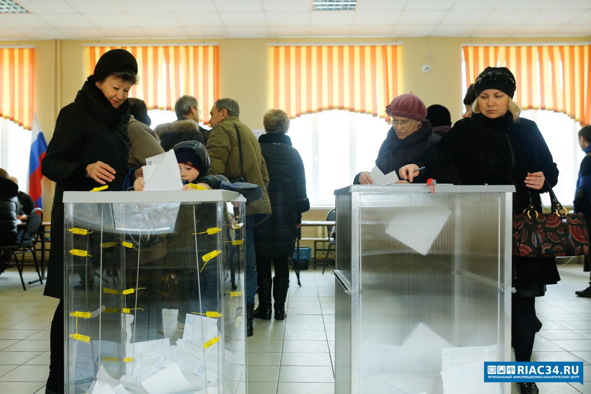 В регионе явка избирателей на 15 часов составила 48.28%