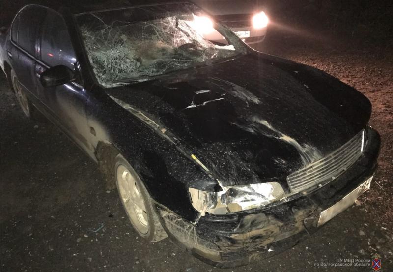 Под Волгоградом нетрезвый шофёр сбил четырех пешеходов и исчез