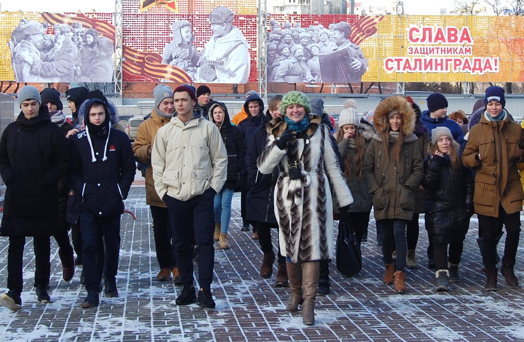 Туристы вВолгограде побывают набесплатных пеших экскурсиях