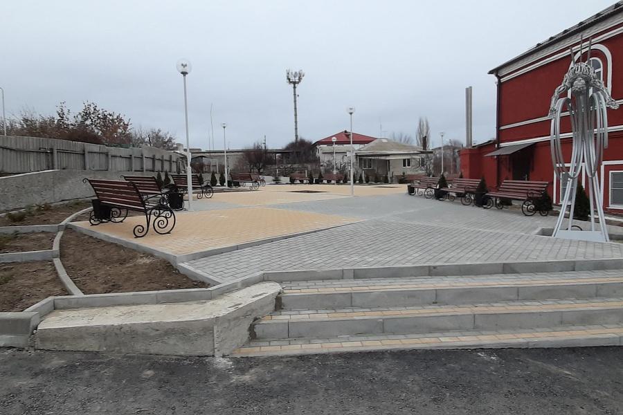 В Волгоградской области благоустроили 187 общественных пространств