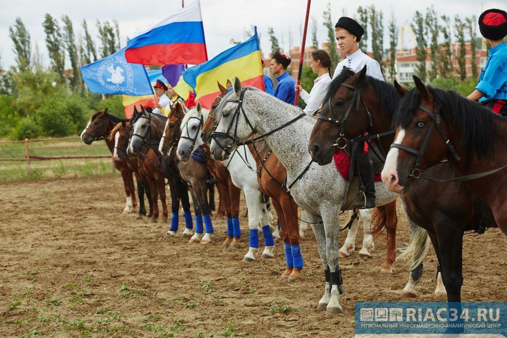 ВВолгограде состоялись состязания Кубка РФ поджигитовке
