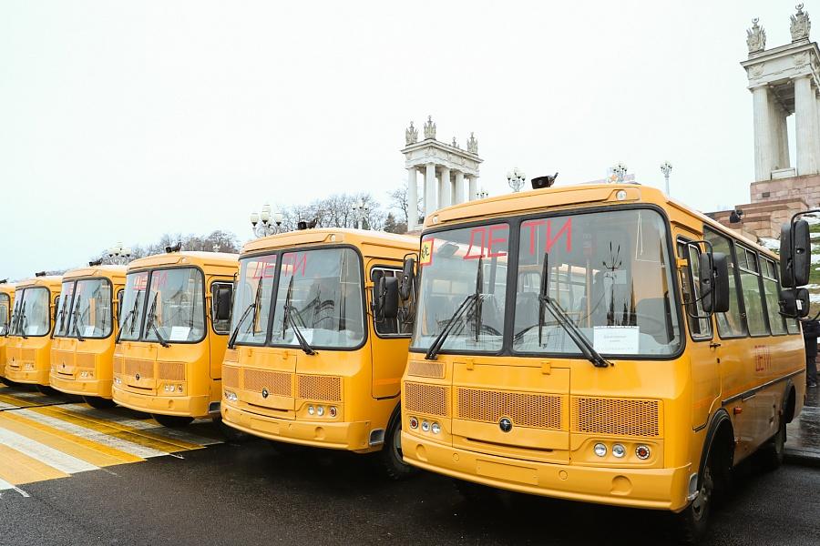 Для школьников Волгоградской области выделили 54 новых автобуса