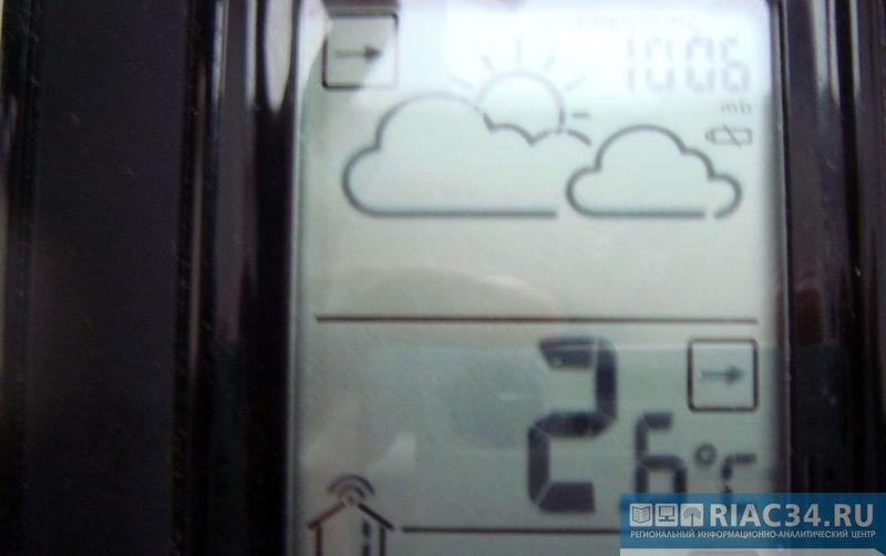 В Волгоградской области температура будет прыгать от минус 6 до плюс 7
