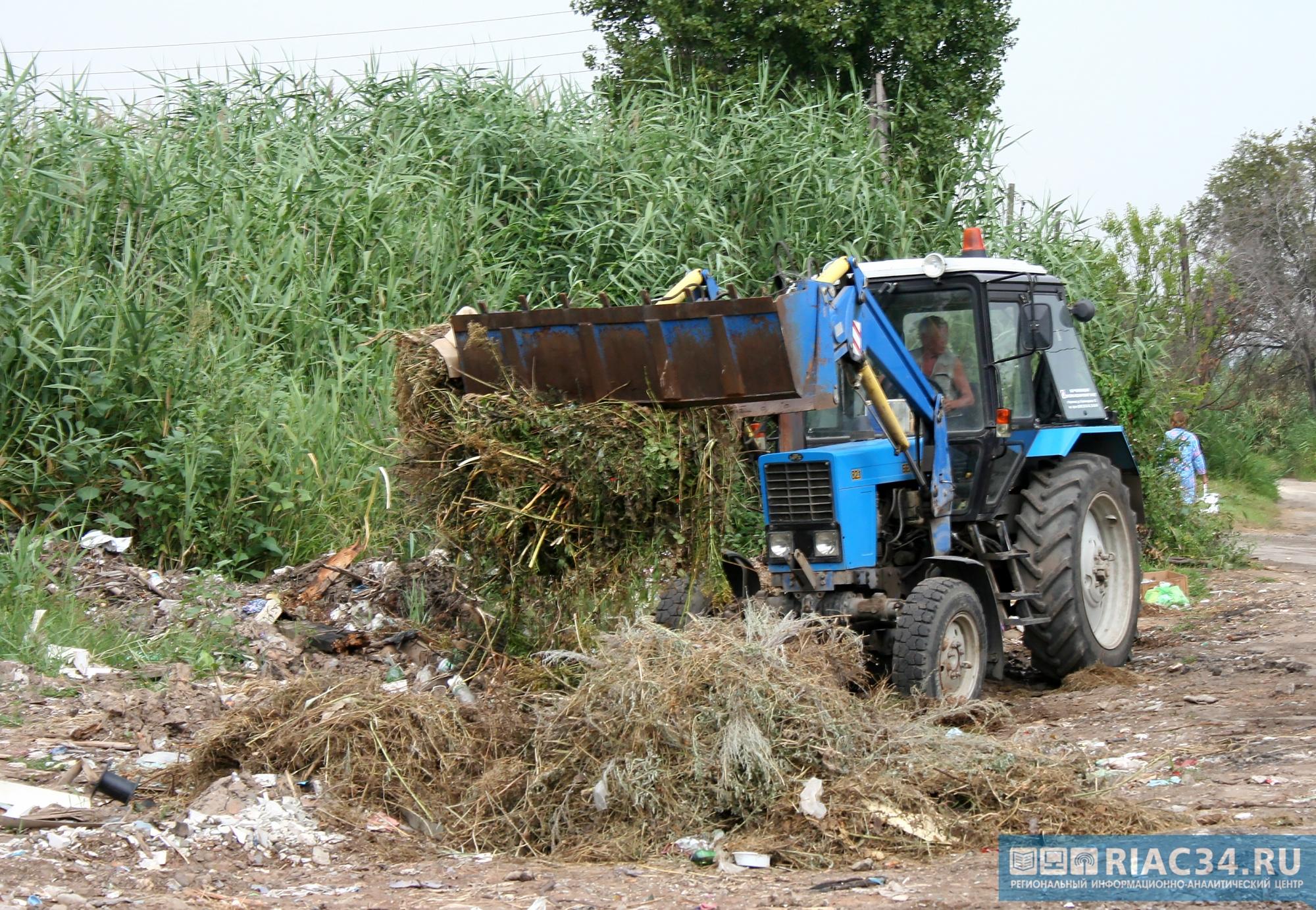 Генпрокуратура заставила волгоградских чиновников вывести свалку сприродного парка «Донской»