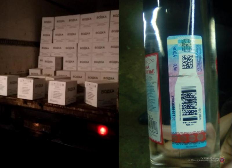 Гражданин Ленинска купил вВолгограде 3 тысячи бутылок поддельного алкоголя