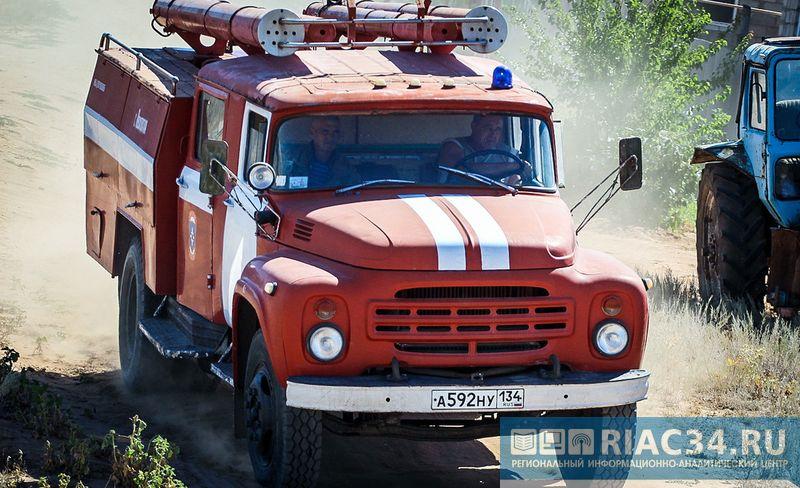ВВолгоградской области напожаре умер молодой мужчина