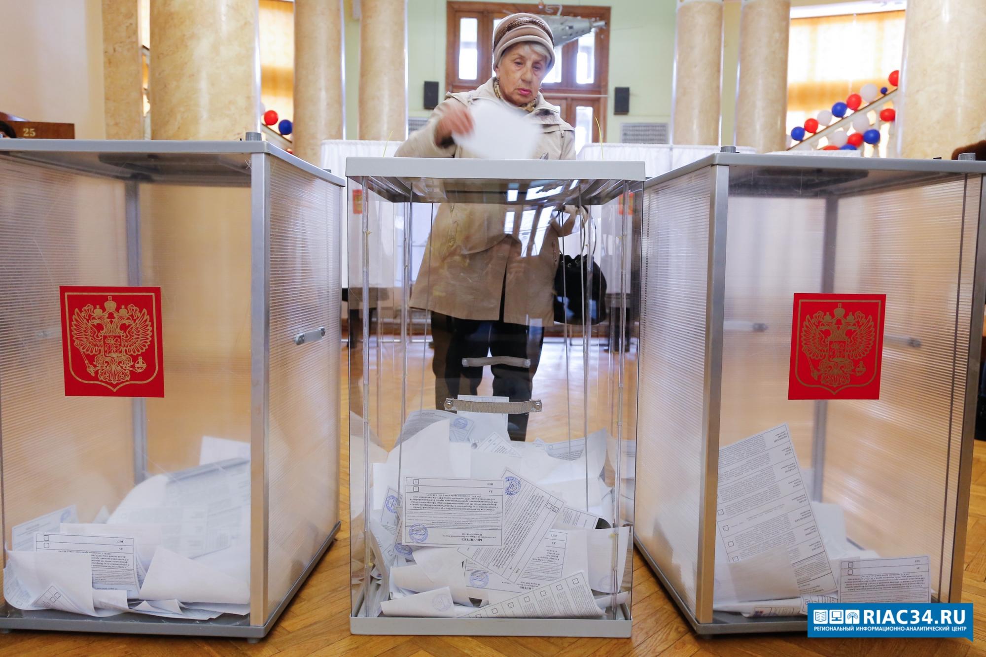 Алексей Буров: Выборы президента России в Волгоградской области состоялись