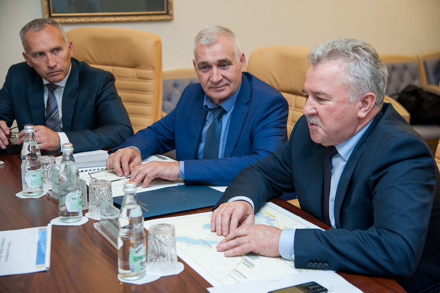 Начало трассы вобход Волгограда соединит астраханскую икотельниковскую дороги