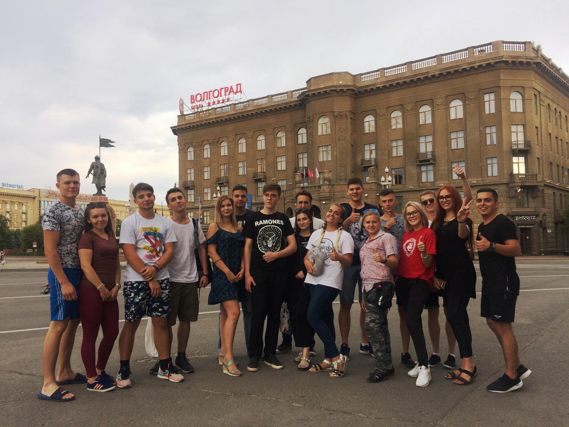 Молодежные активисты изВолгограда направились на«Территорию смыслов»