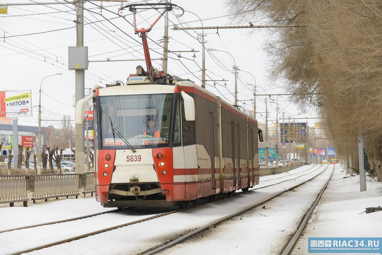 ВВолгограде докупят 10 высокоскоростных трамваев в последующем году