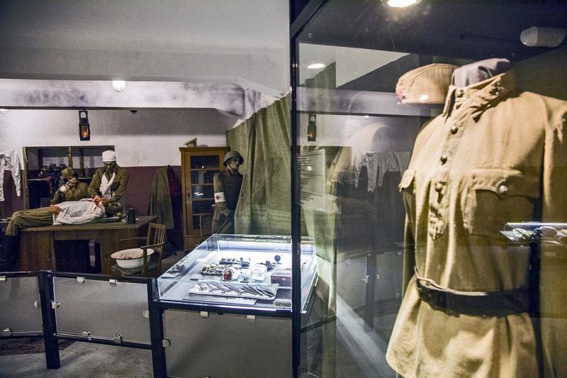 Новая экспозиция в волгоградском музее рассказывает о сталинградских медиках