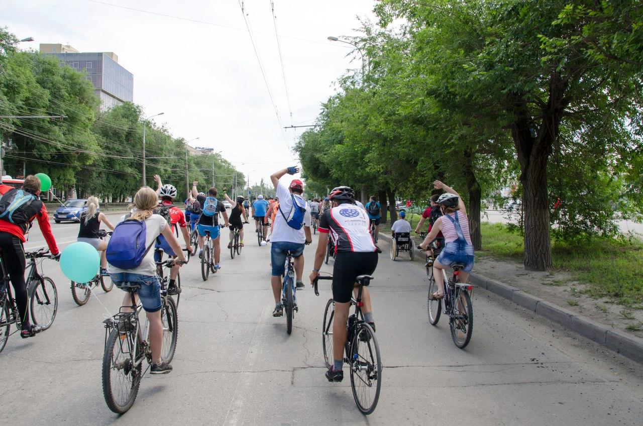 Граждане Волгограда присоединятся квсероссийскому велопараду