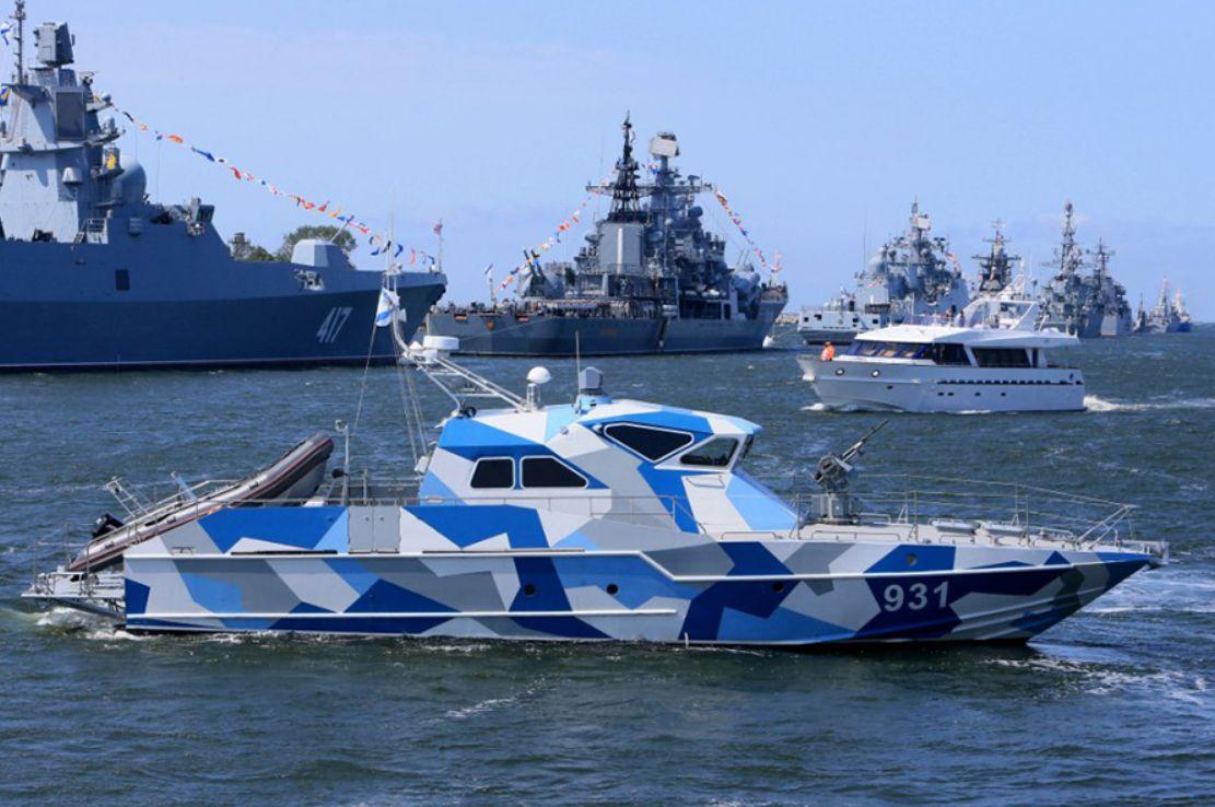 Отряд военных кораблей ВМФ Российской Федерации пройдёт через Волгодонск