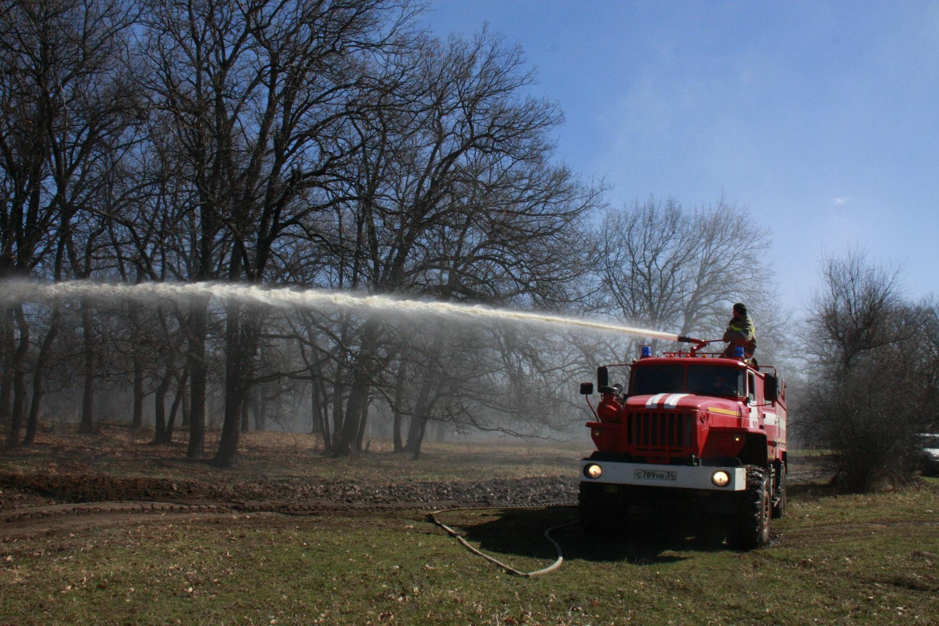 ВВолгограде введен пожароопасный период