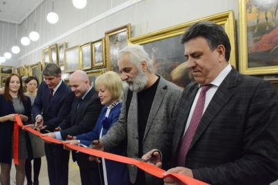 В Волгограде открылась выставка картин из собрания Московского музея-усадьбы Останкино