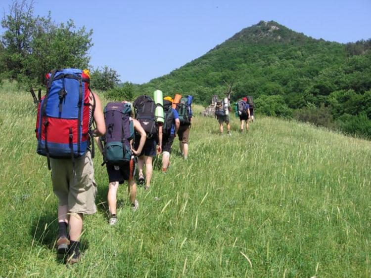 В Волгоградской области состоялись сборы юных туристов
