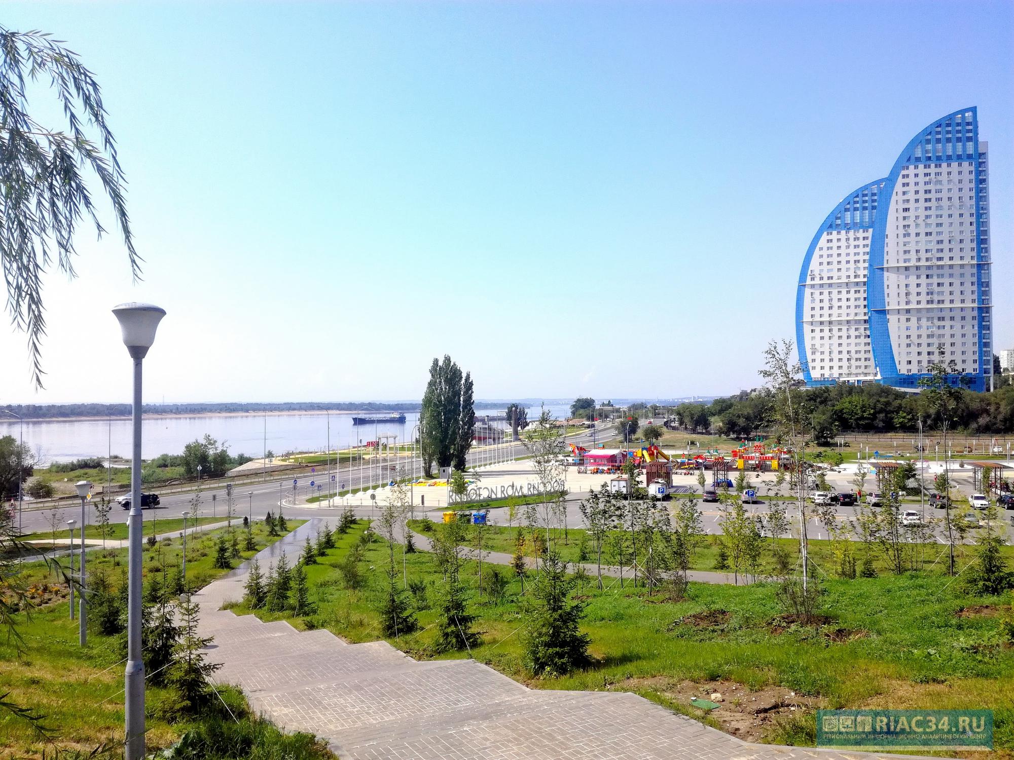 В пойме Царицы в Волгограде хотят создать площадку для дрон-рейсинга