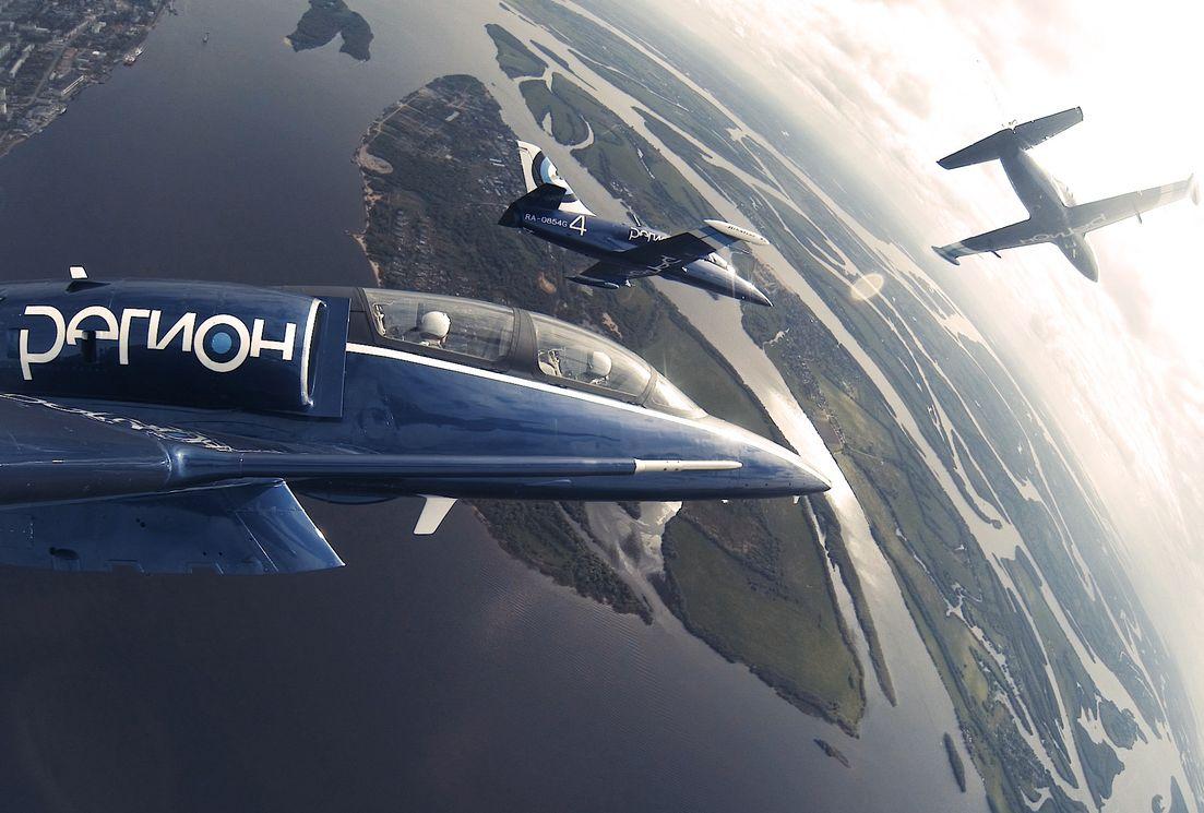 Волгоград сднём рождения поздравит пилотажная группа «Регион»