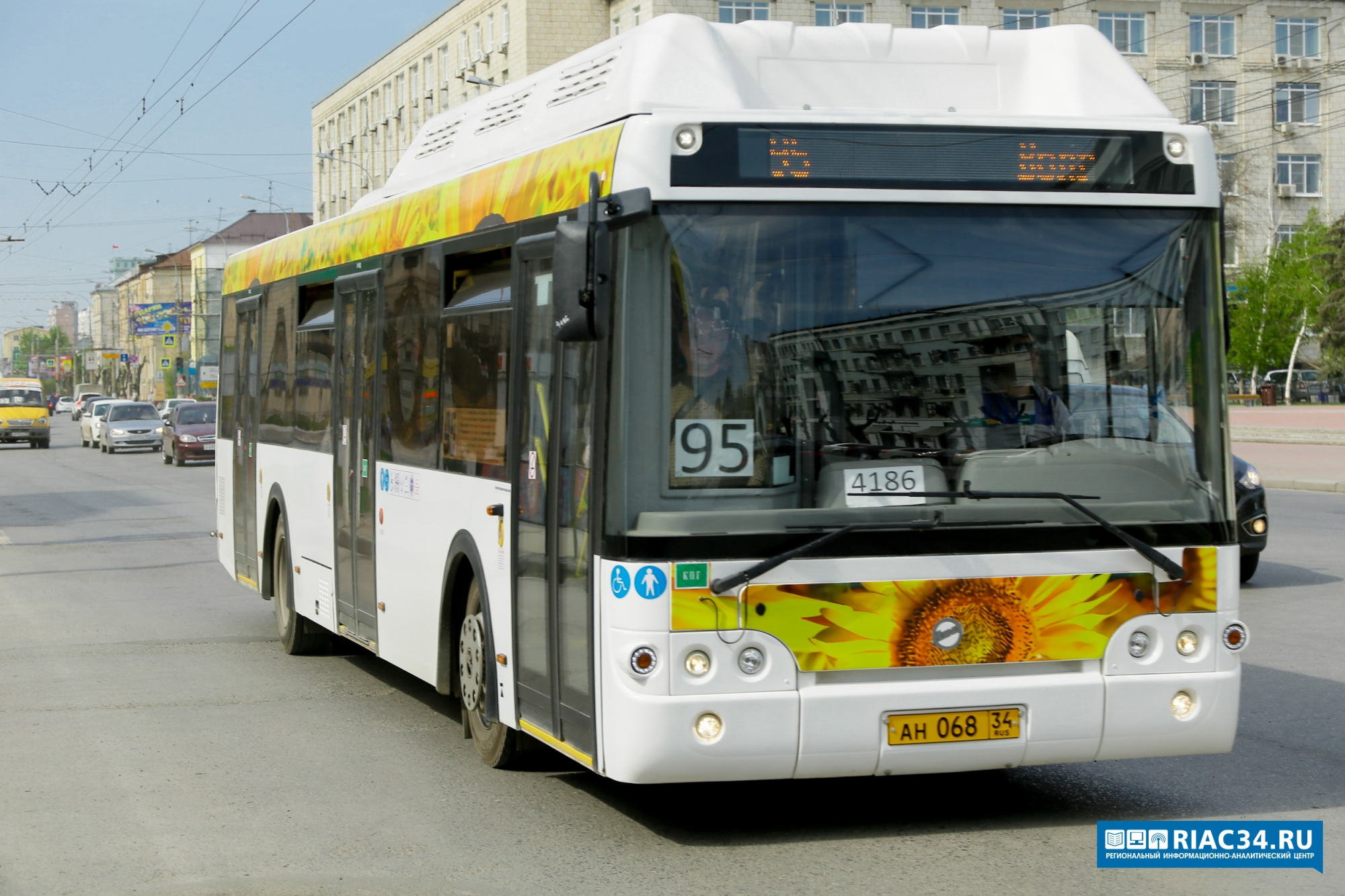 ВВолгограде автобус №95 может поменять маршрут