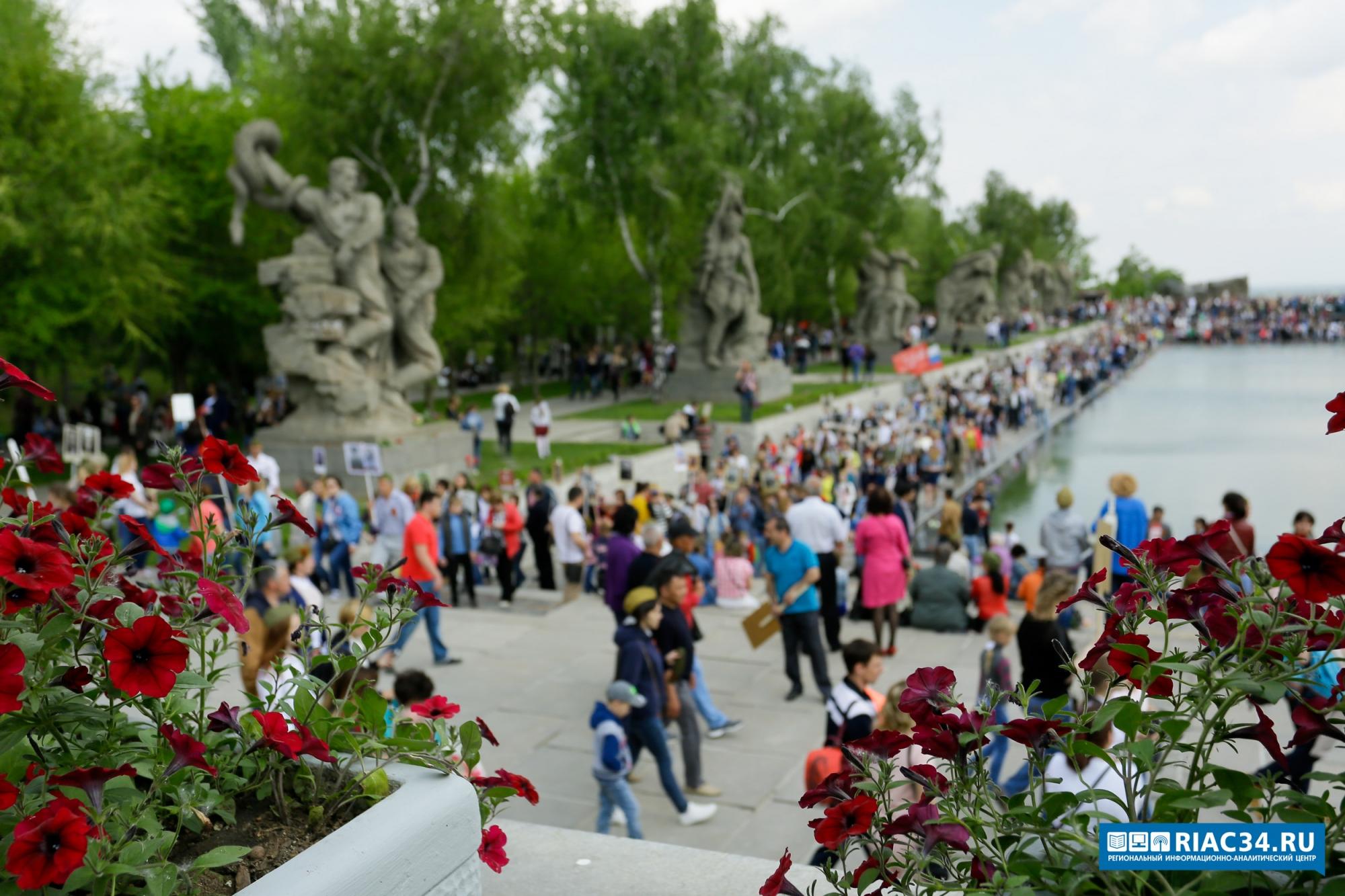 Празднование Дня Победы в Волгограде производит большое впечатление на гостей