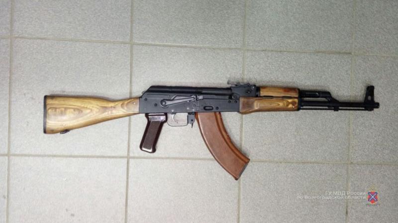 ВВолгограде краснодарский гость устроил стрельбу изавтомата