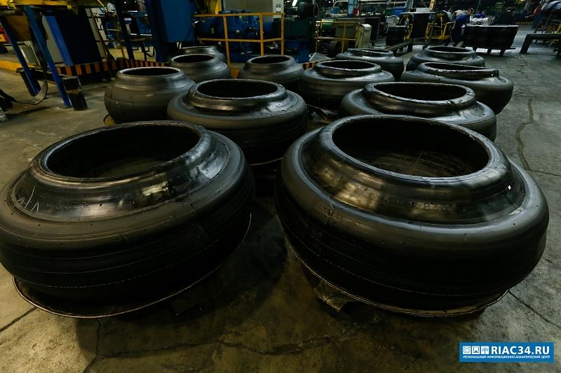 В Волжском создана новая линия по производству сельскохозяйственных шин