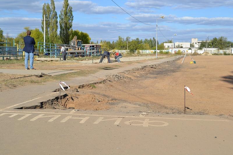 ВВолгограде началась реконструкция стадиона «Темп»