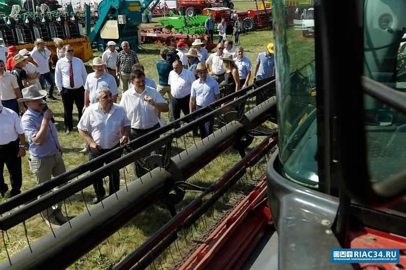 ВВолгоградской области собрано зерновых неменее чем на500 тысячах гектаров