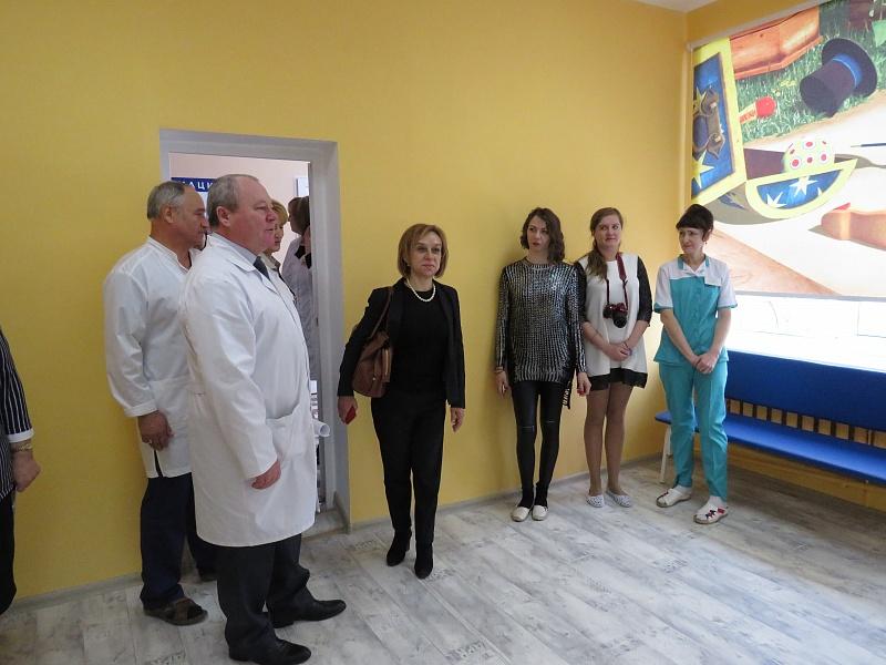 Детское ихирургическое отделения заработали вУрюпинске после ремонта