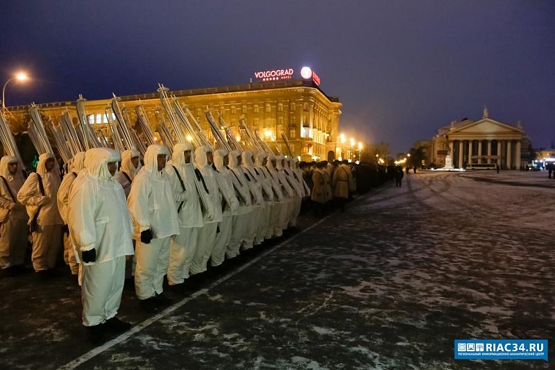 В Волгограде состоялась генеральная репетиция Парада