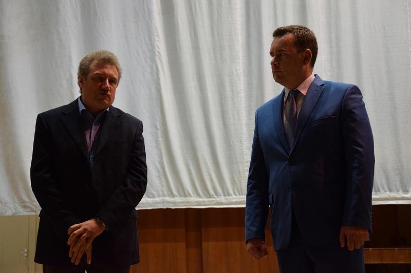 Андрея Аниханова представили вкачестве нового руководителя Волгоградского симфонического ансамбля
