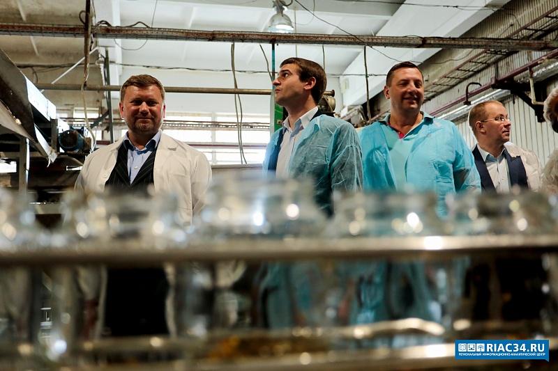 ВВолгограде возобновил работу завод попереработке овощей